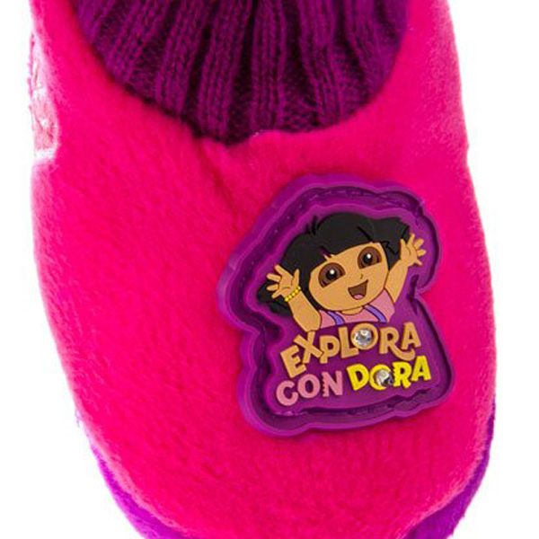 Zapatilla pantuflas Dora la Exploradora - fucsia