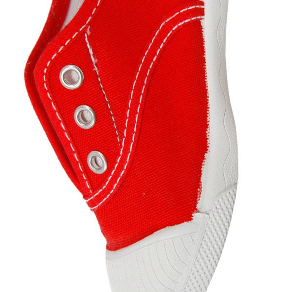 Sneaker sin cordones - rojo