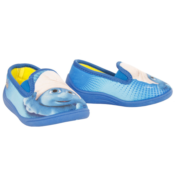 Zapatilla de casa Pitufos - azul