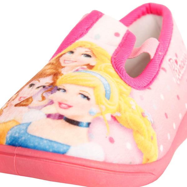 Zapatilla de casa Princesas - rosa