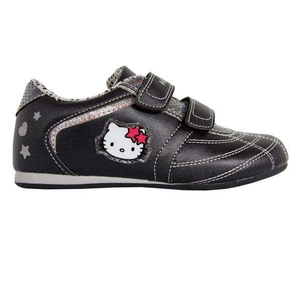 Deportiva Hello Kitty - negro