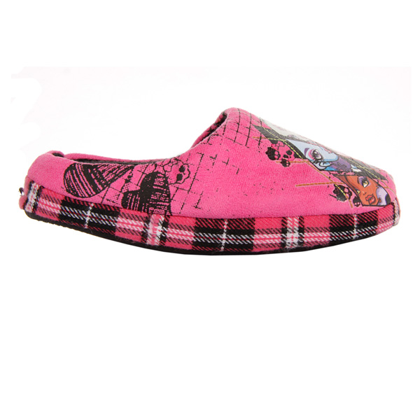 Zapatilla de casa Monster High - fucsia
