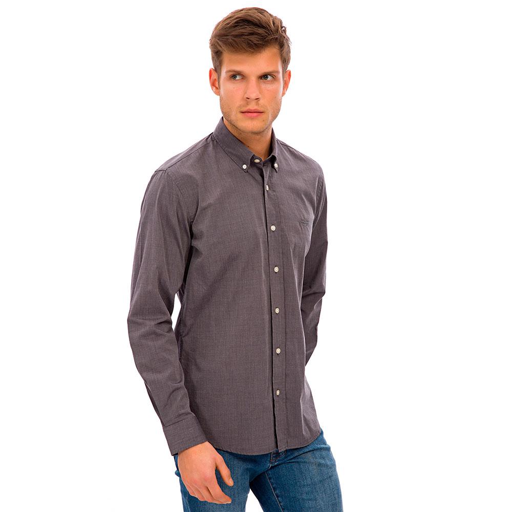 Camisa hombre - gris oscuro