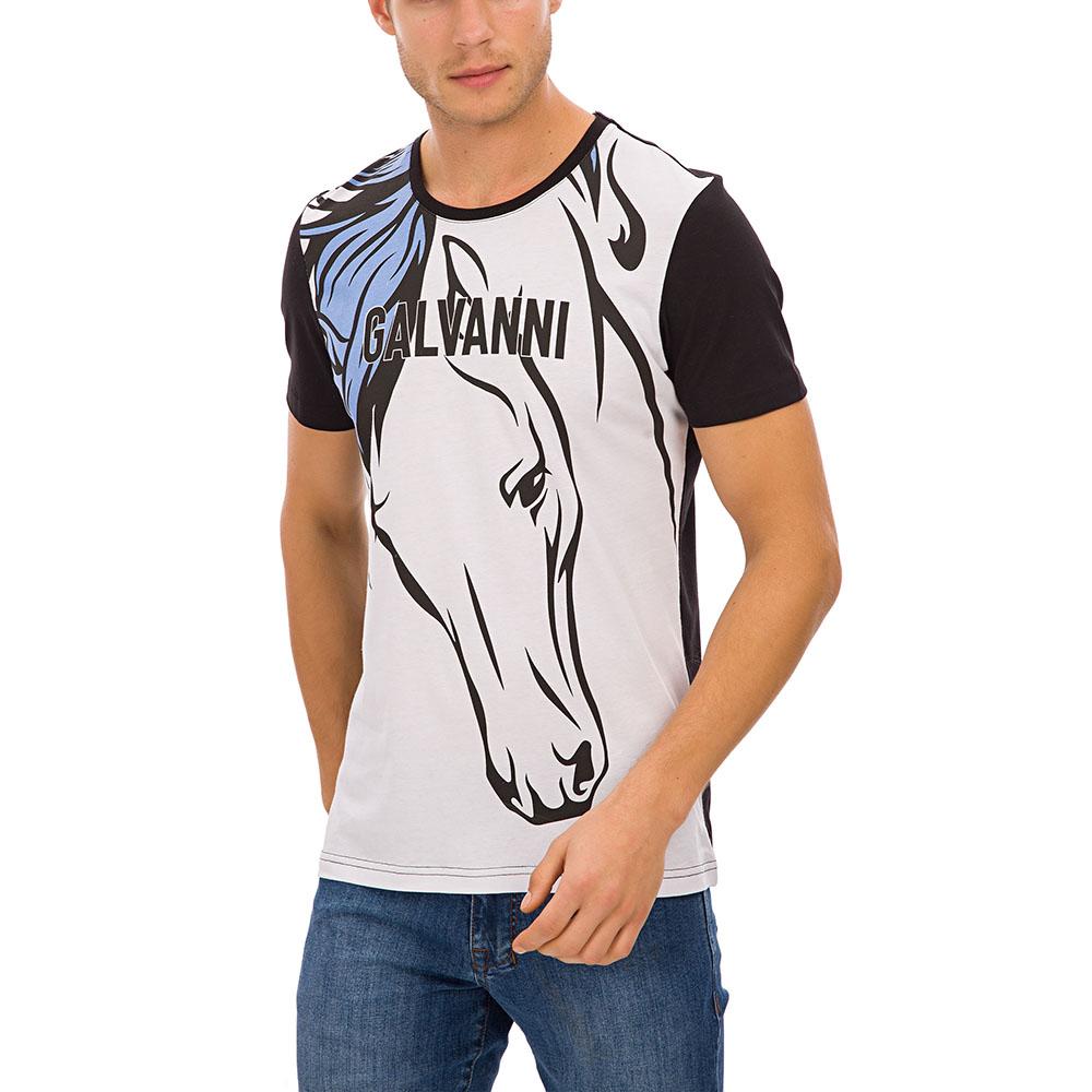 Camiseta hombre - negro/multicolor