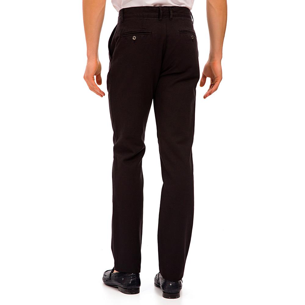Pantalón slim fit hombre - negro