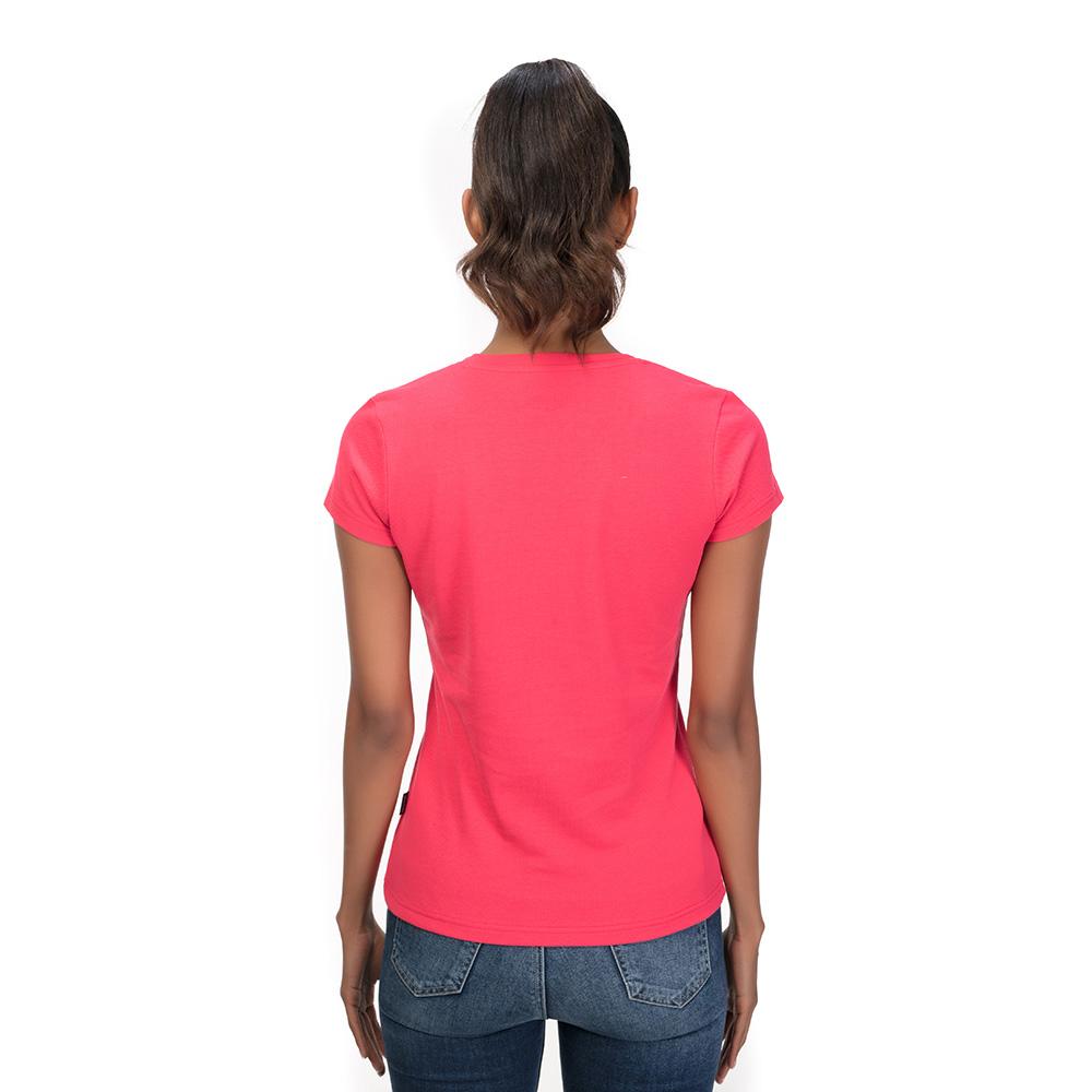 Camiseta Samahi mujer - fucsia