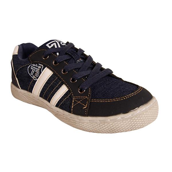 Sneaker bajas combinadas junior - marino