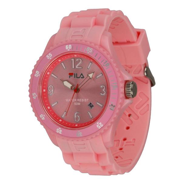 Reloj analógico unisex - rosa
