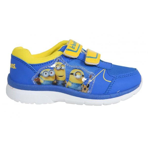 Zapatilla deportiva niño - azul / amarillo