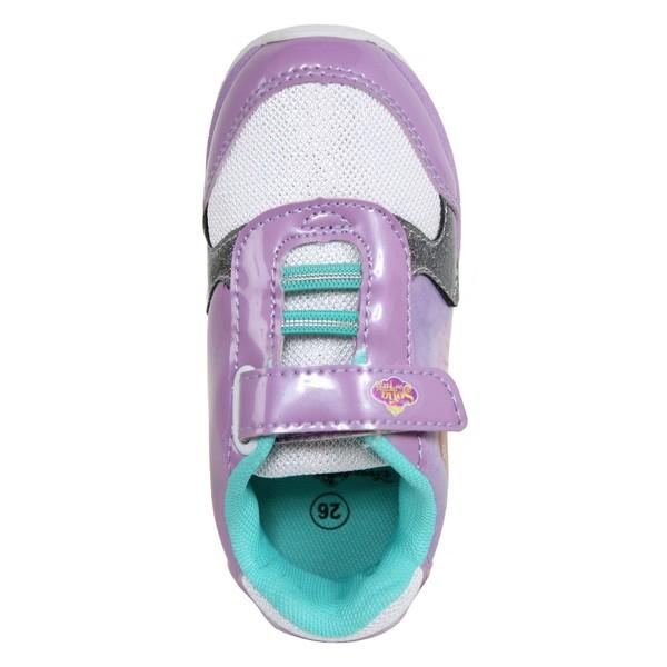 Zapatilla deportiva niña - lila /blanco