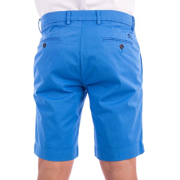 Pantalón custom fit hombre - azul