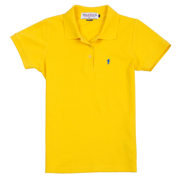 Polo m/corta mujer - amarillo