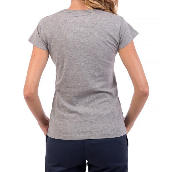 Camiseta regular fit mujer - gris