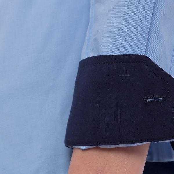 Camisa mujer - azul celeste