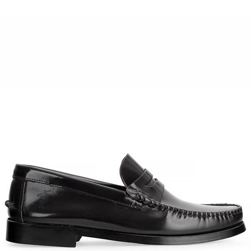 Zapatos piel hombre - negro
