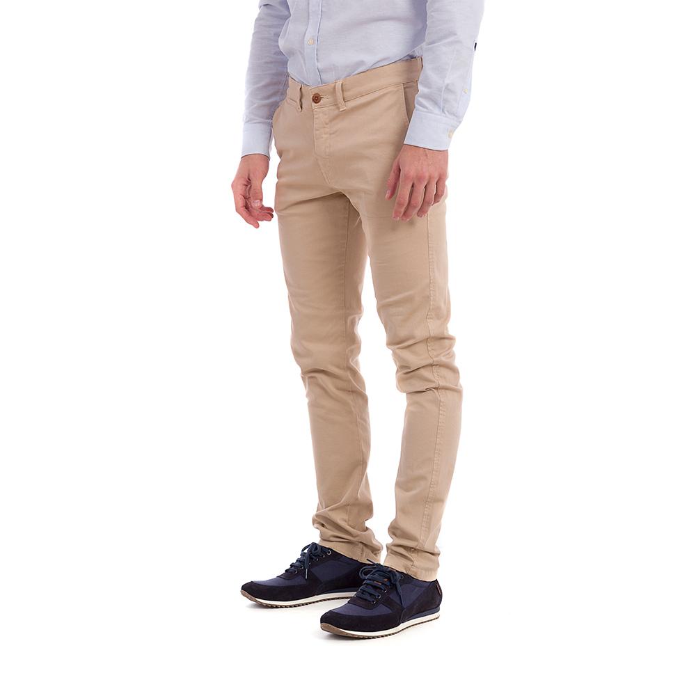 Pantalón chino hombre - beige