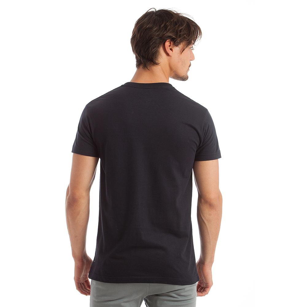 Camiseta m/corta hombre - azul marino