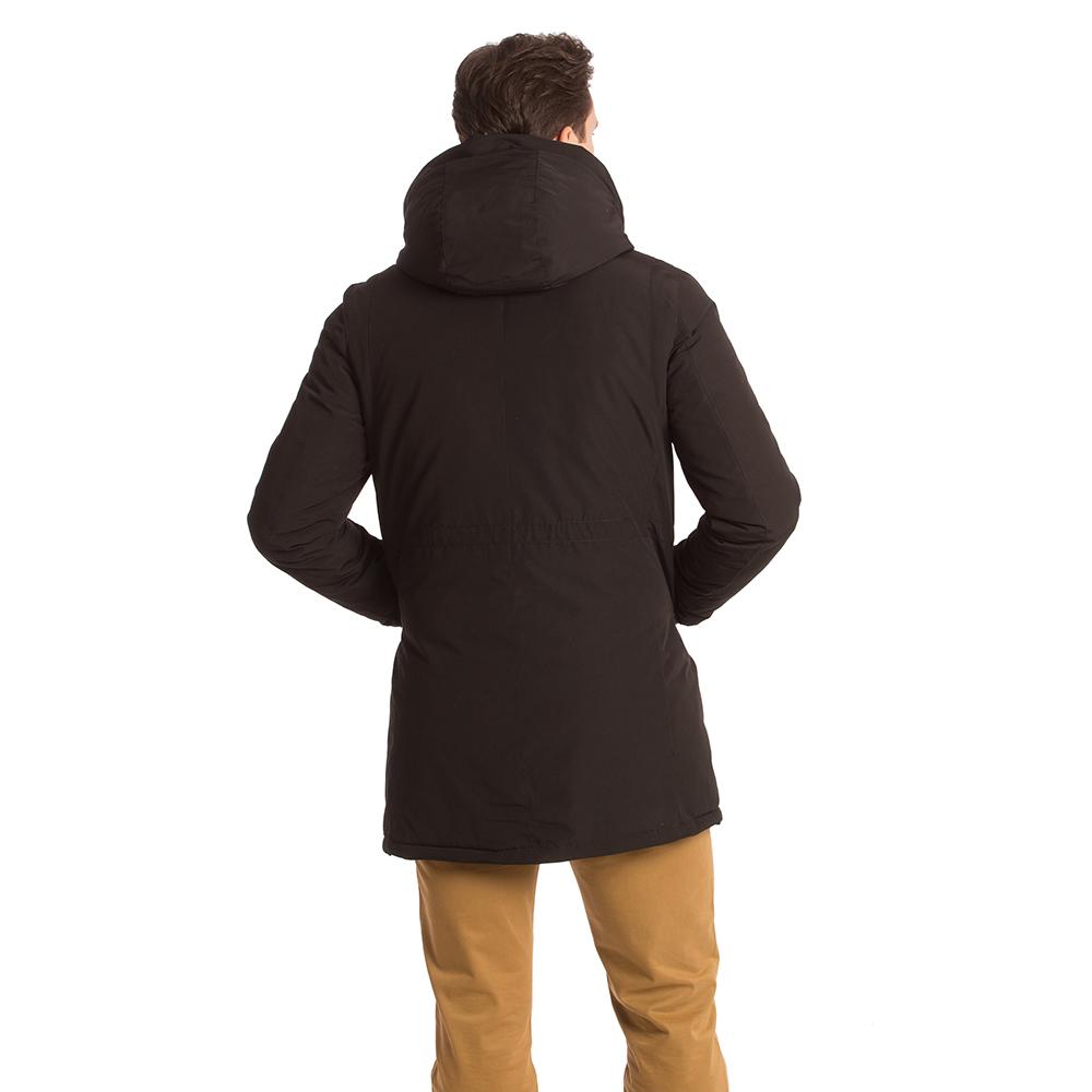 Abrigo hombre - negro