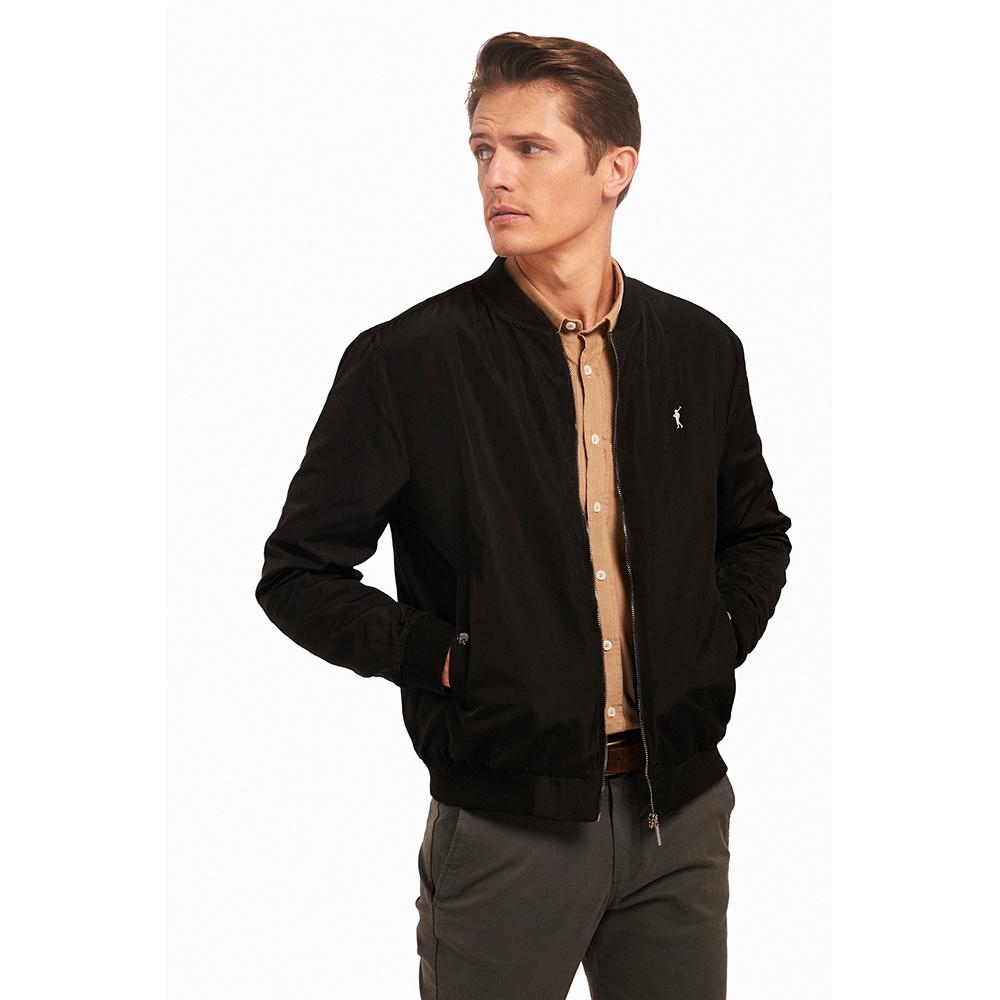 Chaqueta hombre regular fit - negro