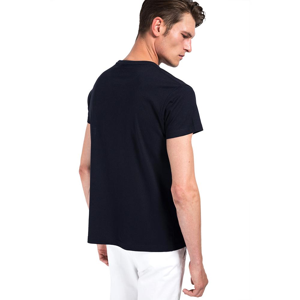 Camiseta m/corta hombre - marino