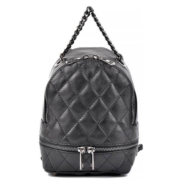 20x17x14cm Bolso Backpack - negro