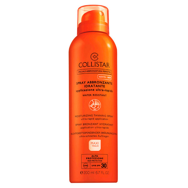 Spray corporal bronceador SPF30