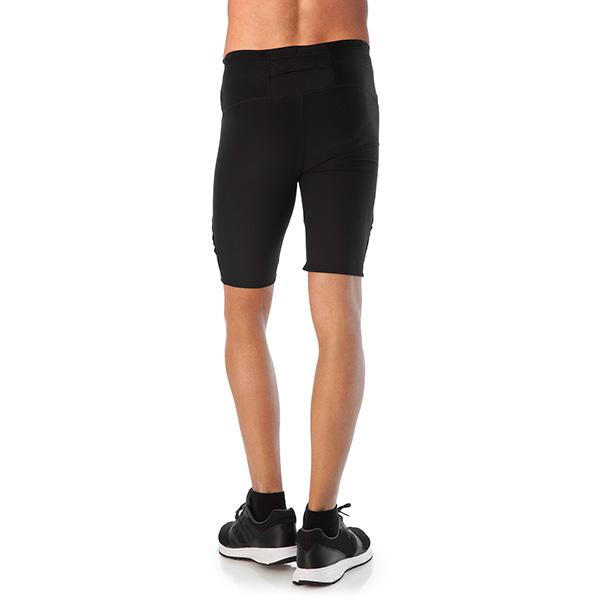 Pantalón corto tipo malla - negro