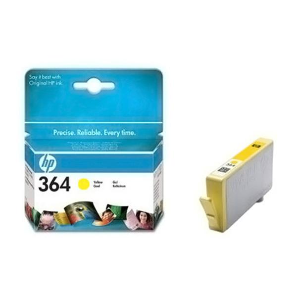 Cartucho inyección tinta HP 364 - amarillo