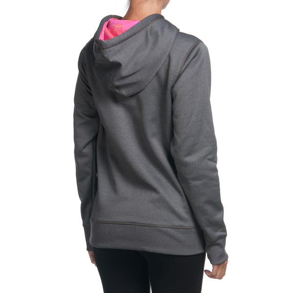 Sudadera c/capucha mujer - gris