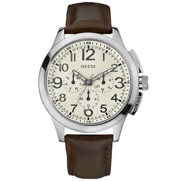 Reloj hombre multifunción Motor - marrón