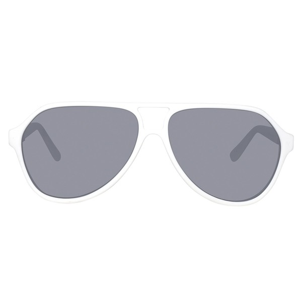 Gafas de sol hombre cal.61 plástico - blanco