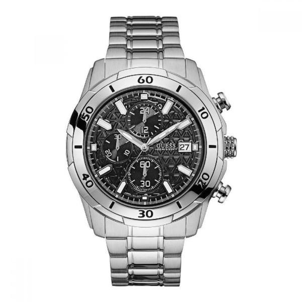 58dd23c27 Reloj hombre - plateado GUESS W0746G2