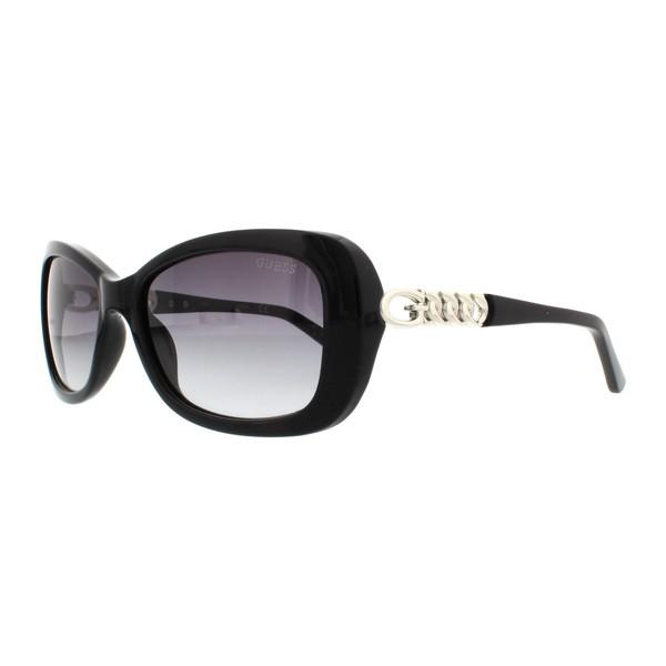 Gafas de sol inyectadas mujer - negro