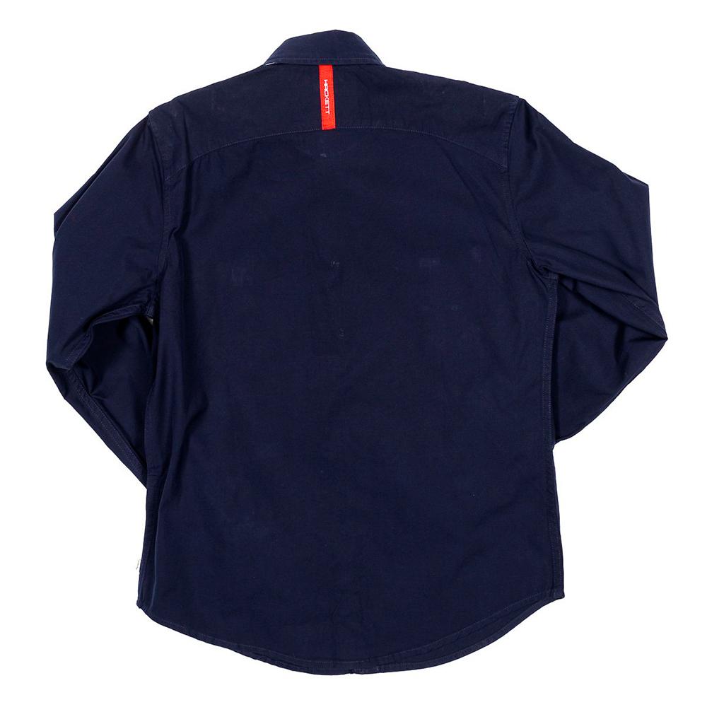 Camisa m/larga infantil - marino
