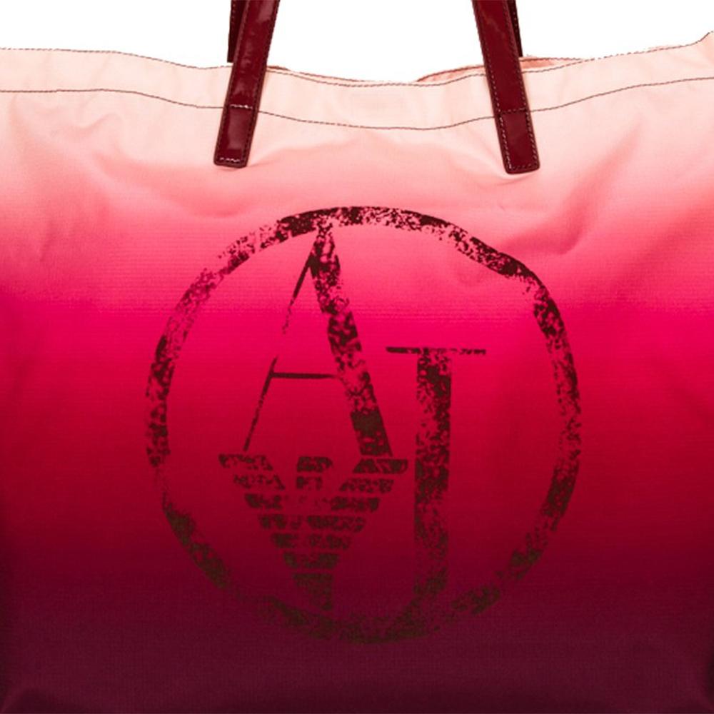Bolsa compra mujer - granate/rosa