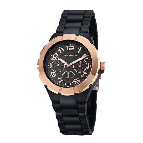 Reloj Time Force para mujer en carey o negro
