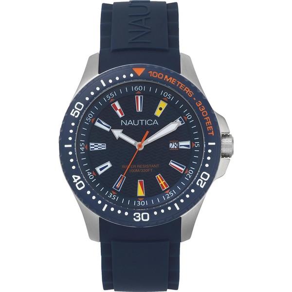 Reloj analógico hombre - azul