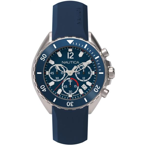 Reloj analógico silicona hombre - azul