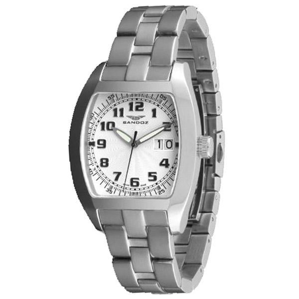 Reloj analógico acero hombre - armys/blanco