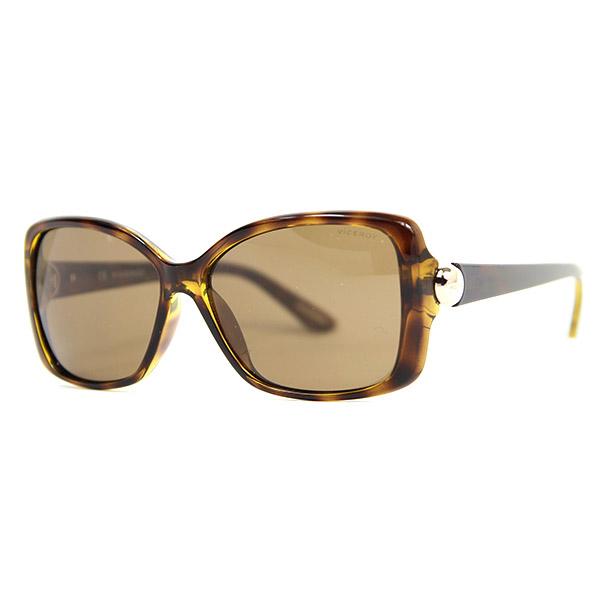 Gafas de sol mujer calibre 58 acetato - marrón/negro