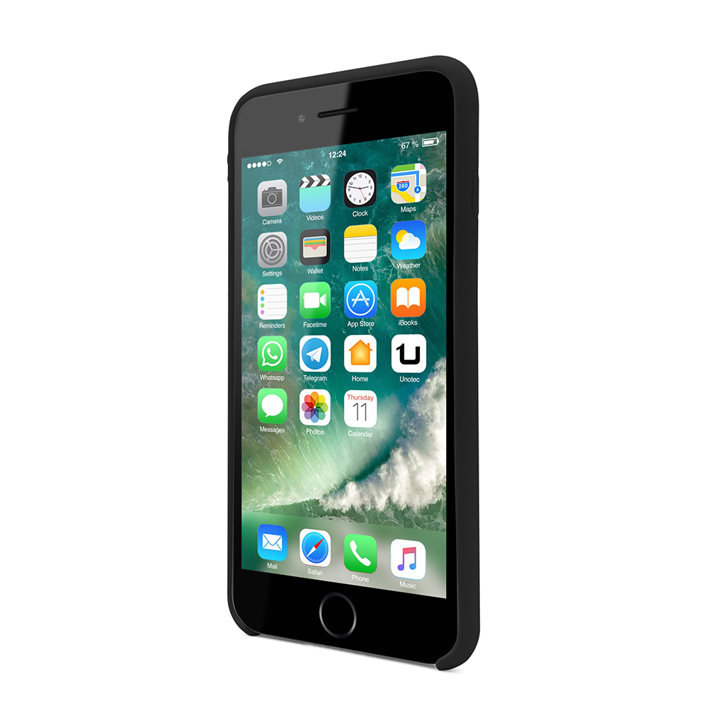 Funda soft para iphone 7/8 - negro