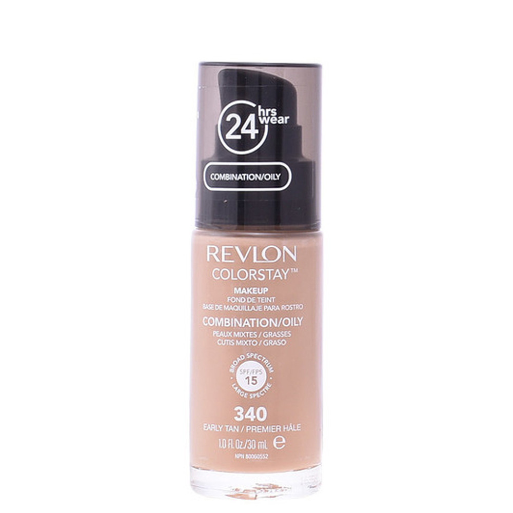 Base de maquillaje piel grasa/mixta - #340 earyly tan