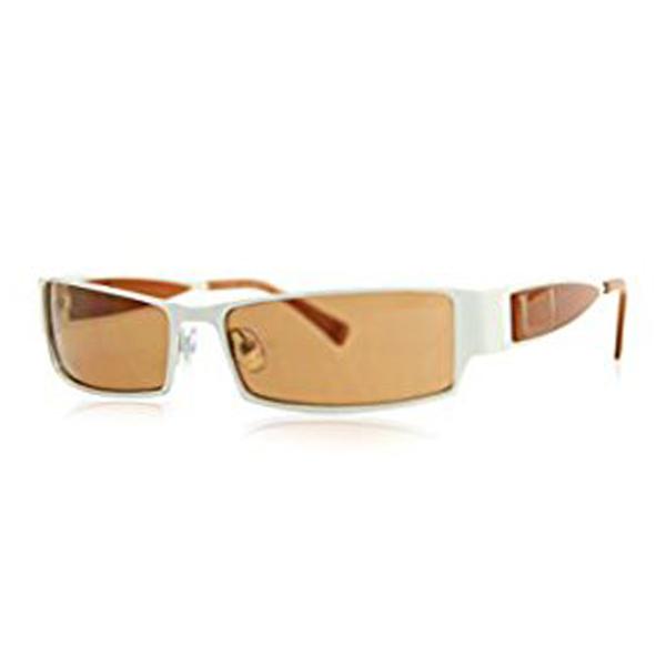Gafas de sol metal mujer - blanco