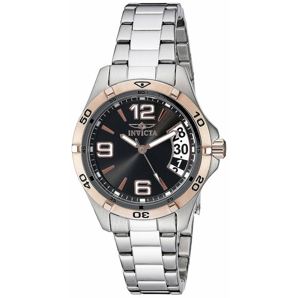 Reloj mujer analógico acero - plateado