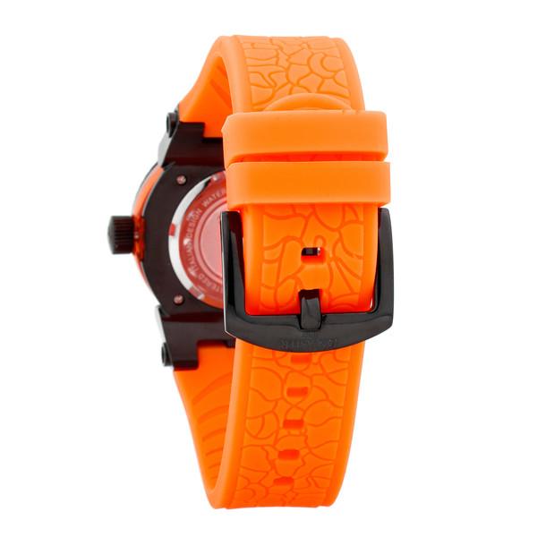 Reloj analógico mujer silicona - naranja