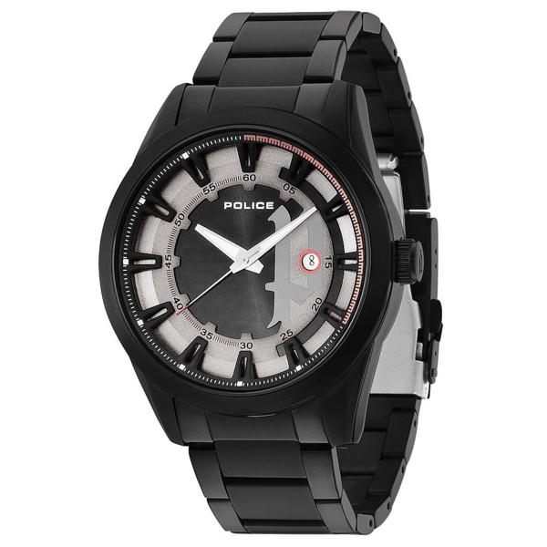 Reloj analógico silicona hombre - negro