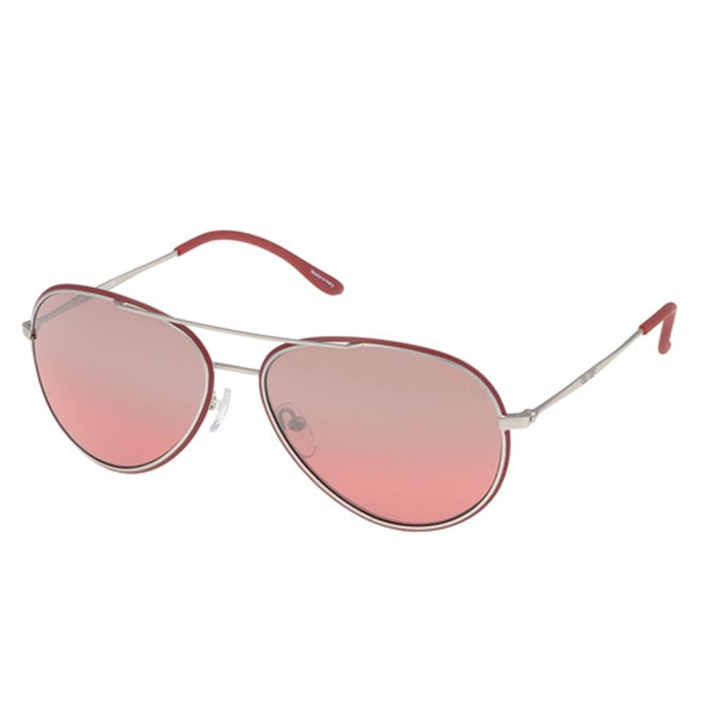 Gafas de sol metal unisex - burdeos