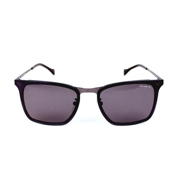 Gafas de sol hombre cal.53 metal - negro