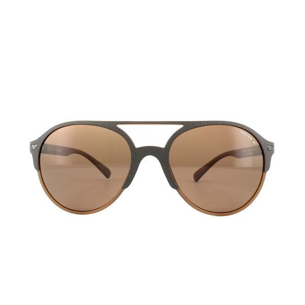 Gafas de sol hombre cal.55 plástico - marrón