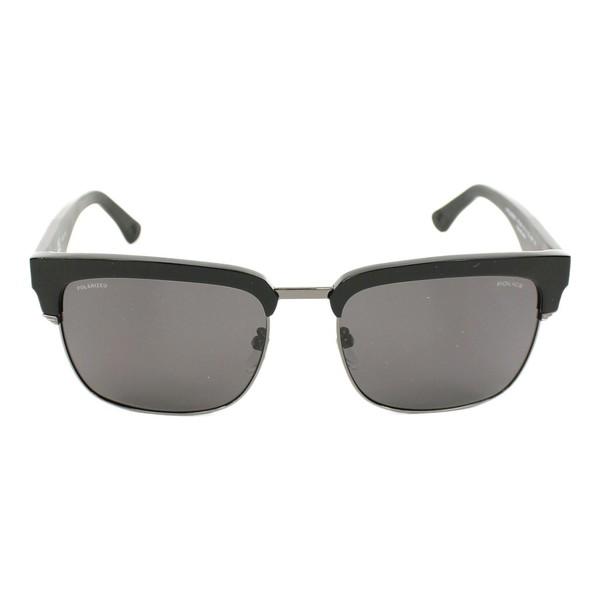 Gafas de sol hombre cal.55 plástico - negro